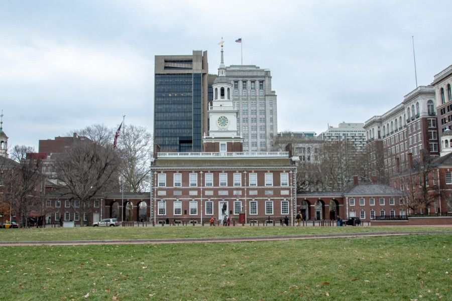 Relive colonial Philadelphia with a visit to Independence Hall.