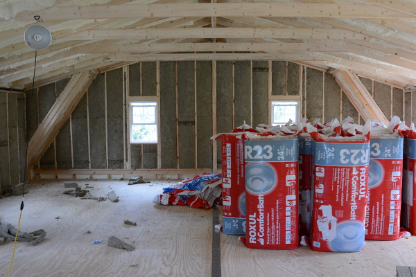 insulating with roxul rockwool
