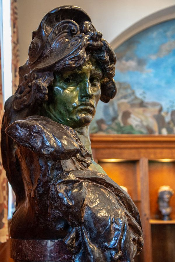 Bellona bust at the Rodin Museum in Philadelphia.