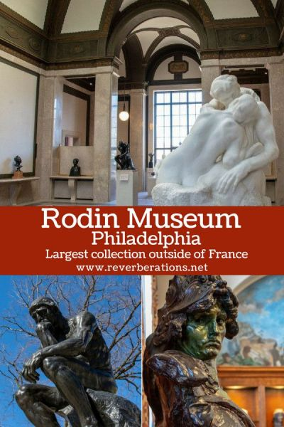 You may be surprised to know that Philadelphia is home to the Rodin Museum, the largest public collection housed outside of France of work by the sculptor. #rodin #art #museum #philadelphia #philly #pennsylvania #visitphilly #visitpa