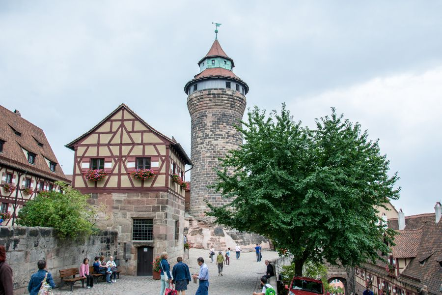 The Imperial Castle in Nuremberg, Germany.