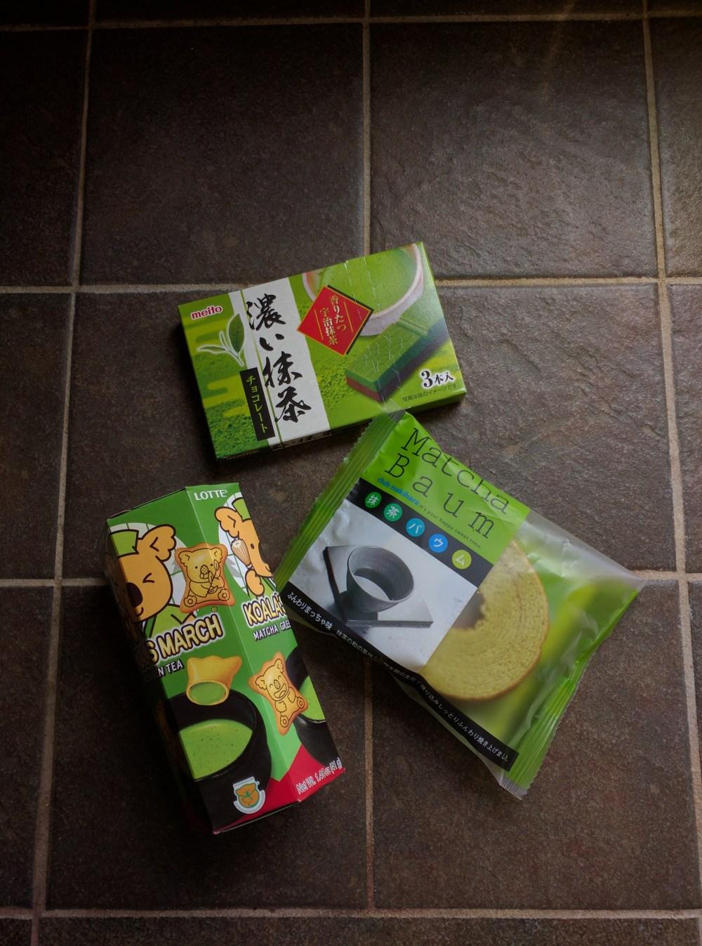matcha green tea candy from mitswua