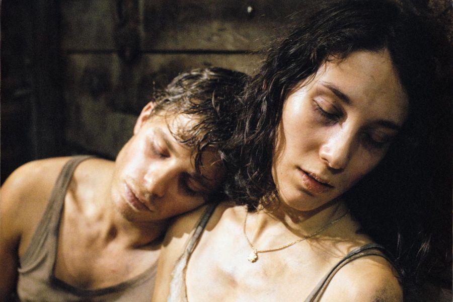 German actress Sibel Kekilli in Der Letzte Zug (The Last Train).