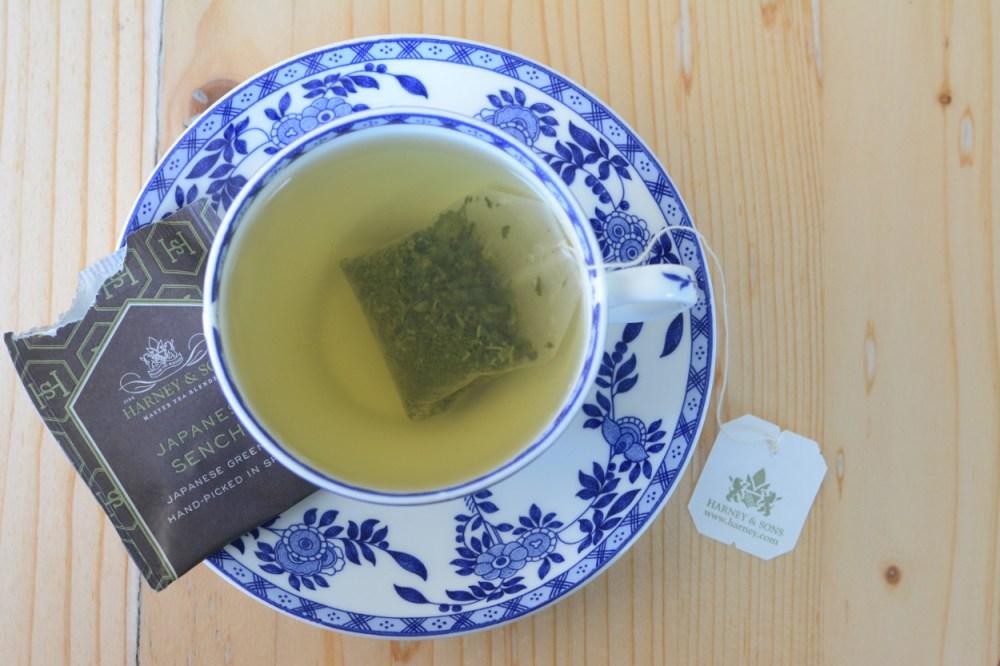 harney and sons japanese sencha bagged tea