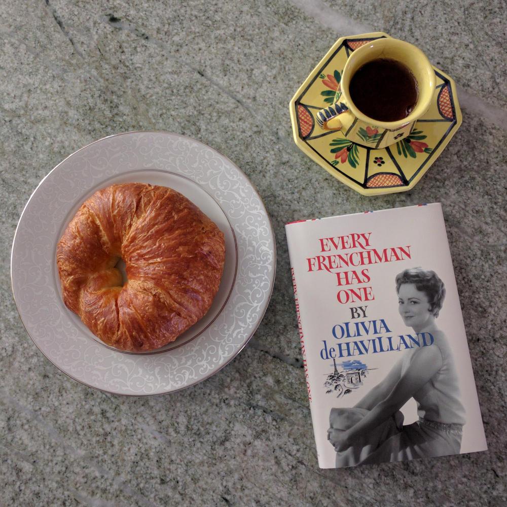 olivia de havilland every frenchman has one book
