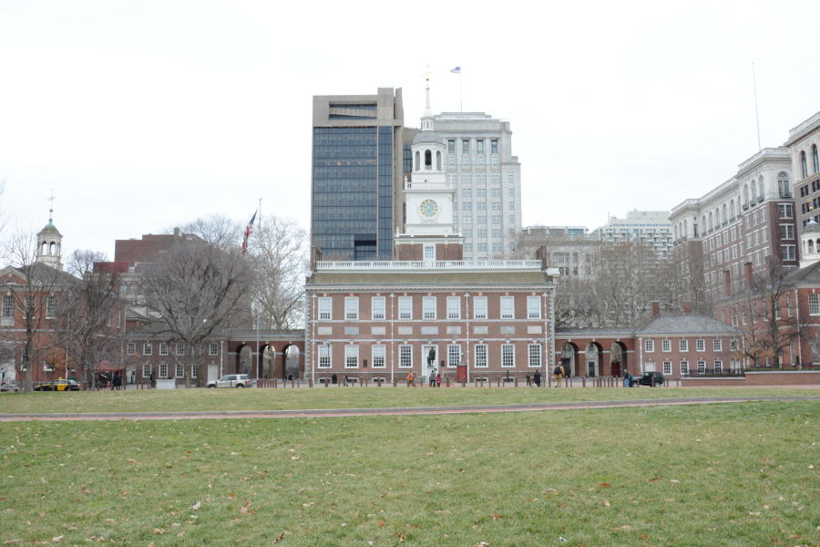 Independence Hall should be on every walking tour of Philly.