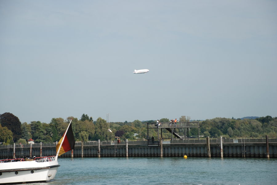 Ever wanted to go for a Zeppelin ride? In Friedrichshafen, Germany you can!