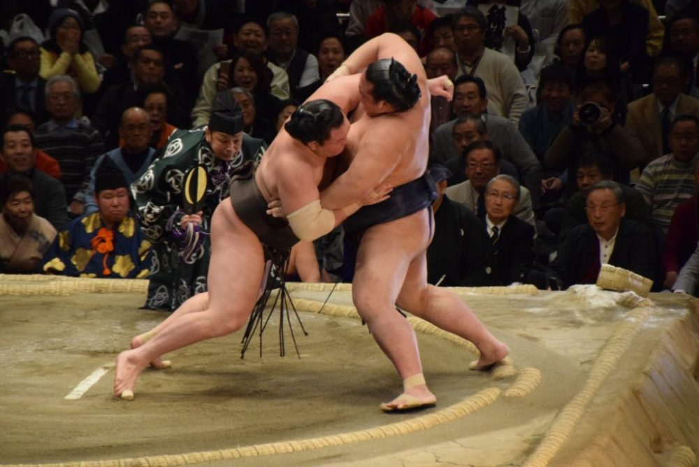 grand sumo tournament