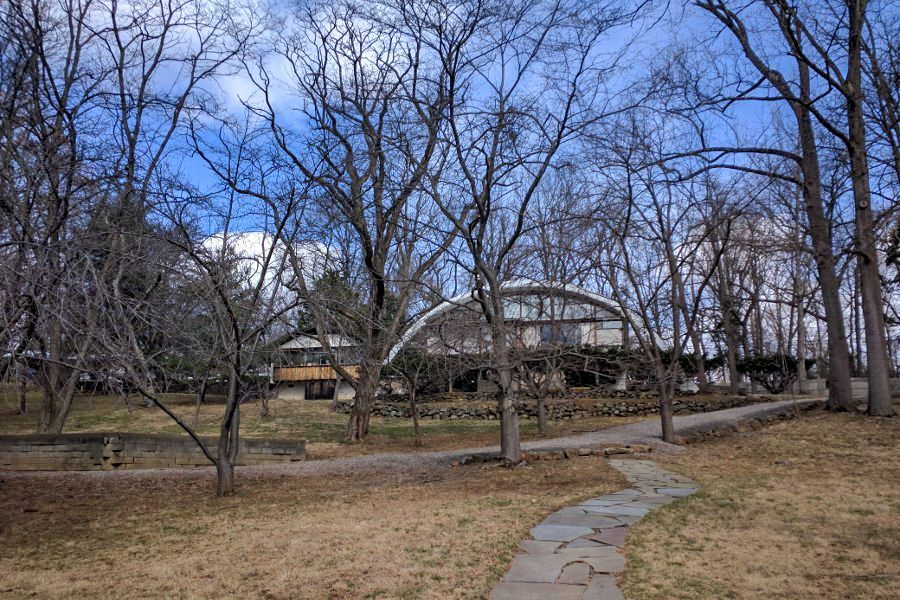 George Nakashima Workshop in New Hope, PA is open for tours.