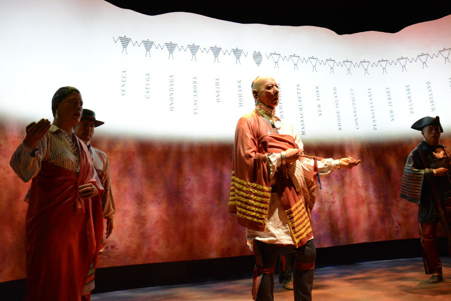 Oneida Nation. Philadelphia's brand new Museum of the American Revolution shares the real stories of the struggles and war that helped found the United States.