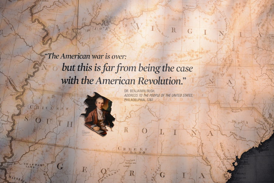 The American War Is Over. Philadelphia's brand new Museum of the American Revolution shares the real stories of the struggles and war that helped found the United States.