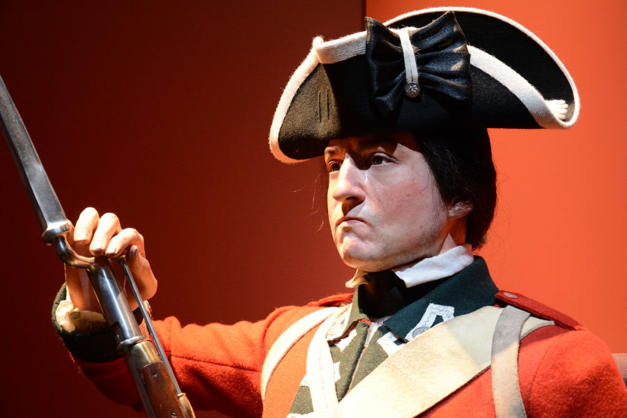 British soldier. Philadelphia's brand new Museum of the American Revolution shares the real stories of the struggles and war that helped found the United States.