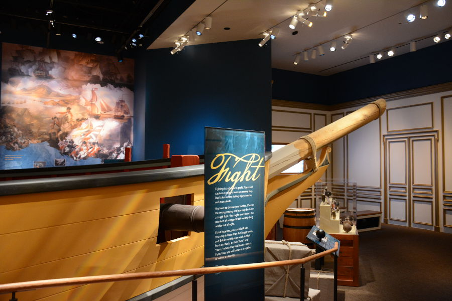 Privateer Ship. Philadelphia's brand new Museum of the American Revolution shares the real stories of the struggles and war that helped found the United States.