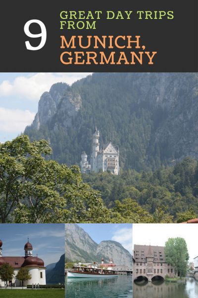Munich is a great place to visit but it is also a good home base if you want to explore Bavaria and the area. Here are 9 of the best day trips from Munich! #munich #germany