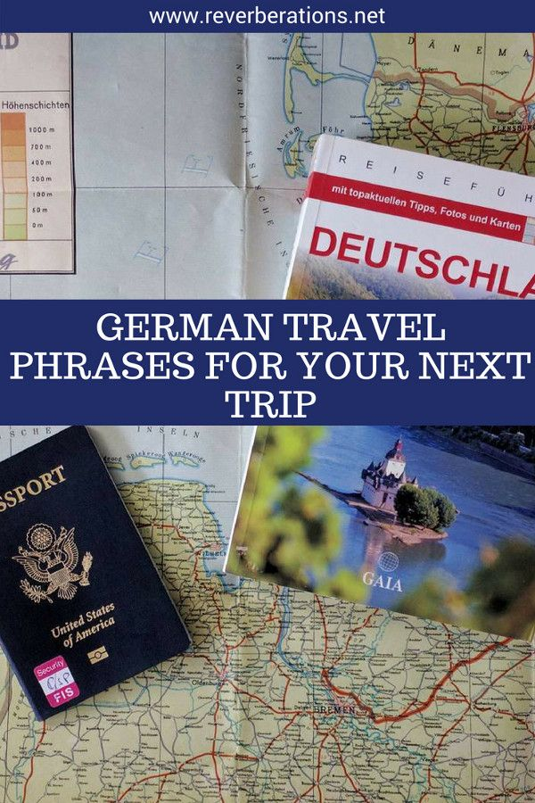 Before you head to Germany or Austria you have to prepare. Here are some simple and easy to remember German travel phrases you have to know to help make your next trip go smoothly. #german #travel #language