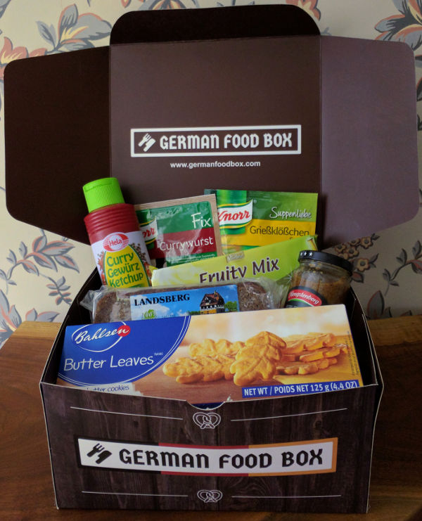 German Food Box delivers a taste of Germany to you at home.