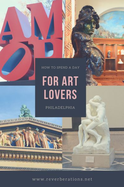 Here is a one day travel guide and itinerary of Philadelphia for art lovers! Modern, street or classic: if you are an art lover then Philly is for you! #philadelphia #philly #visitphilly #visitpa #pennsylvania #art #travel