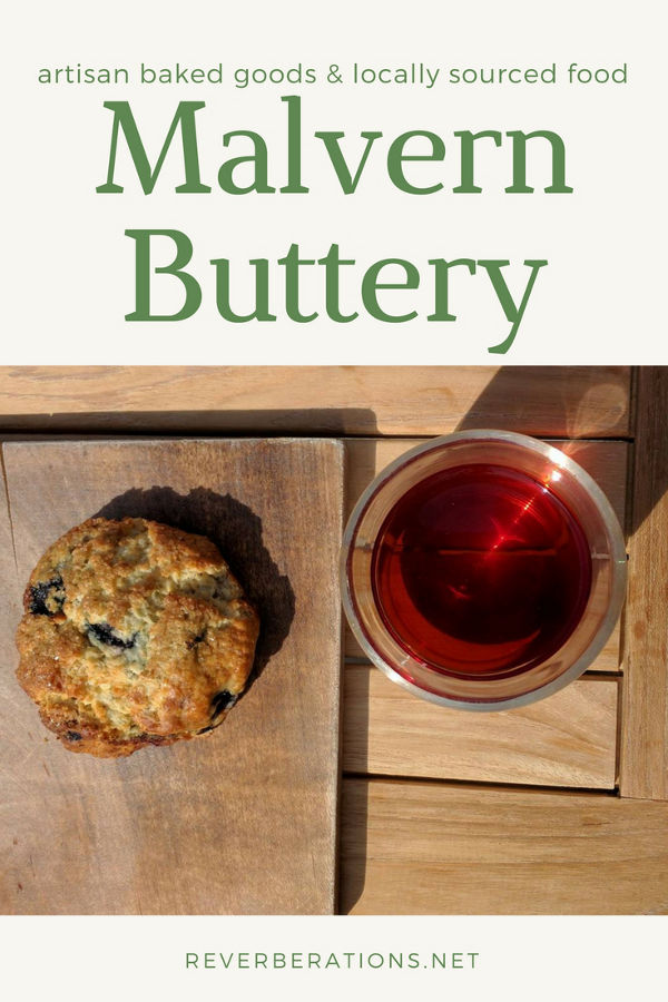 At the Malvern Buttery you can find artisan baked and locally sourced food. Review at Reverberations blog.