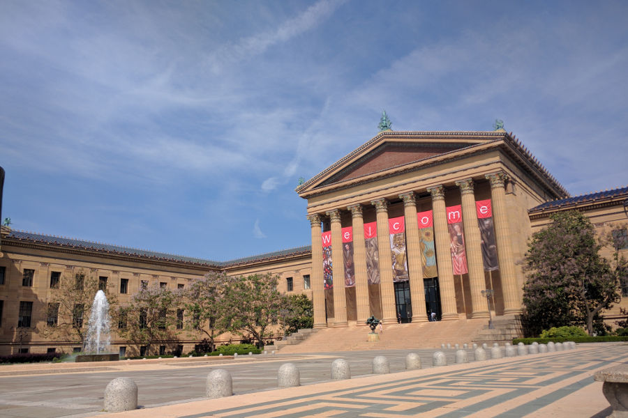 The Philadelphia Museum of Art is a must see for art lovers looking to spend a day in Philadelphia. More on Reverberations blog.