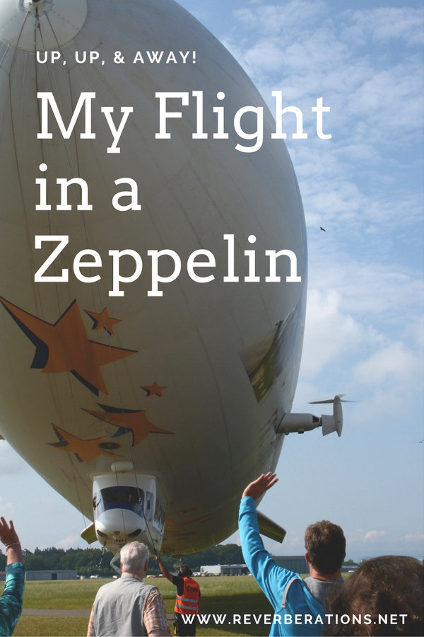 Looking for a once in a lifetime adventure? Try a flight in a Zeppelin!