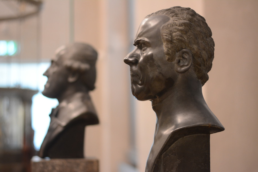 Busts at Bayerisches Nationalmuseum.