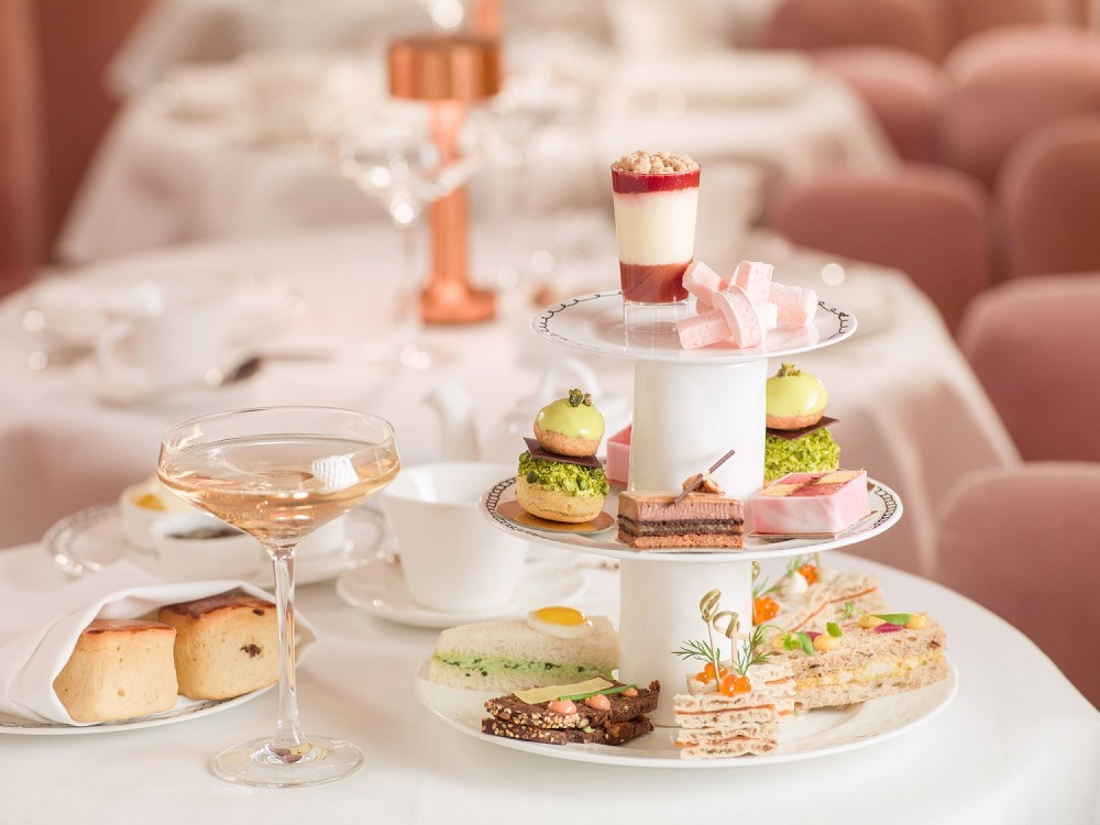 Sketch offers fun, eccentric afternoon teas in an art gallery in London. More afternoon tea spots at Reverberations.