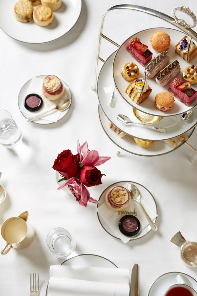 Harrods' The Georgian offers a traditional afternoon tea in the iconic department store. More places for afternoon tea on Reverberations.