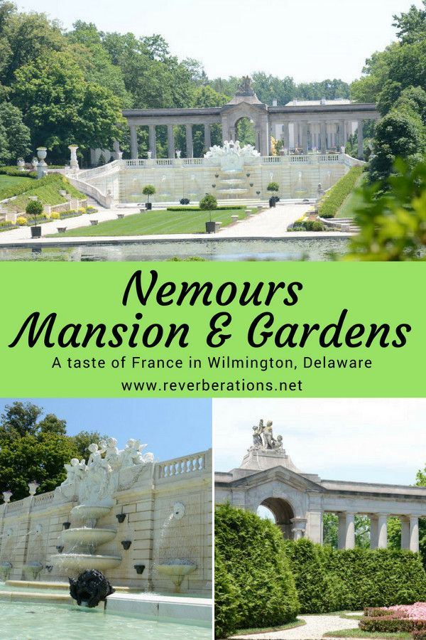 Nemours Mansion and Gardens isn't just the largest formal French gardens in North America, it's a remarkable estate. The French estate of Alfred I. du Pont isn't in Europe but Delaware, USA. Inside a visit to the impressive mansion. #wilmington #delaware #usa #travel
