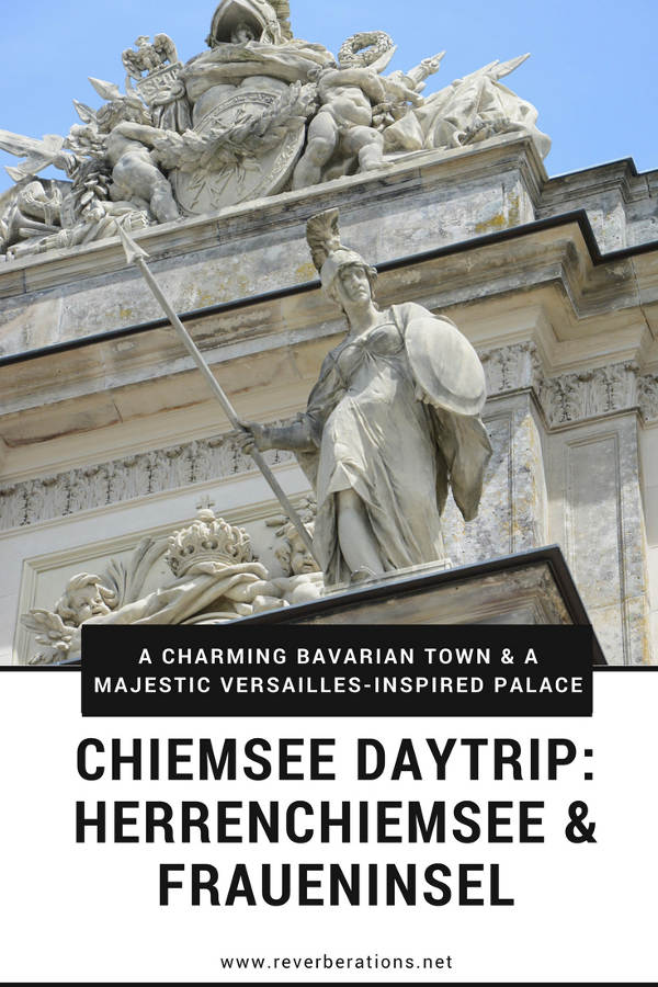 Located just outside Munich, the Chiemsee is home to two islands. One is a charming Bavarian town and the other is home to a majestic Versailles-inspired palace!