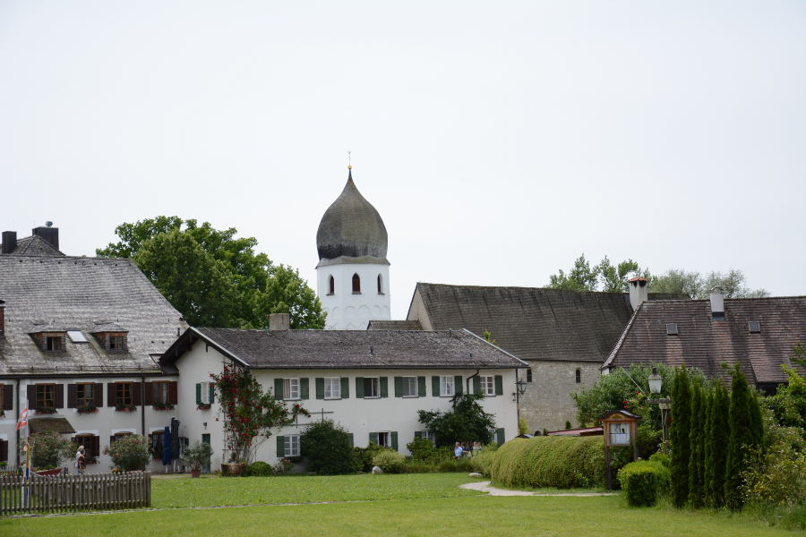 View of the Fraueninsel on the Chiemsee.