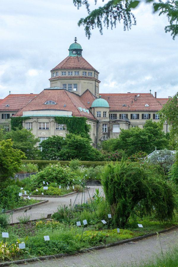 Munich Botanical Garden in Munich, Germany.