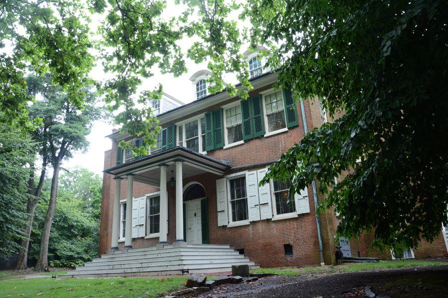 Wheatland estate in Lancaster is the home of President James Buchanan.
