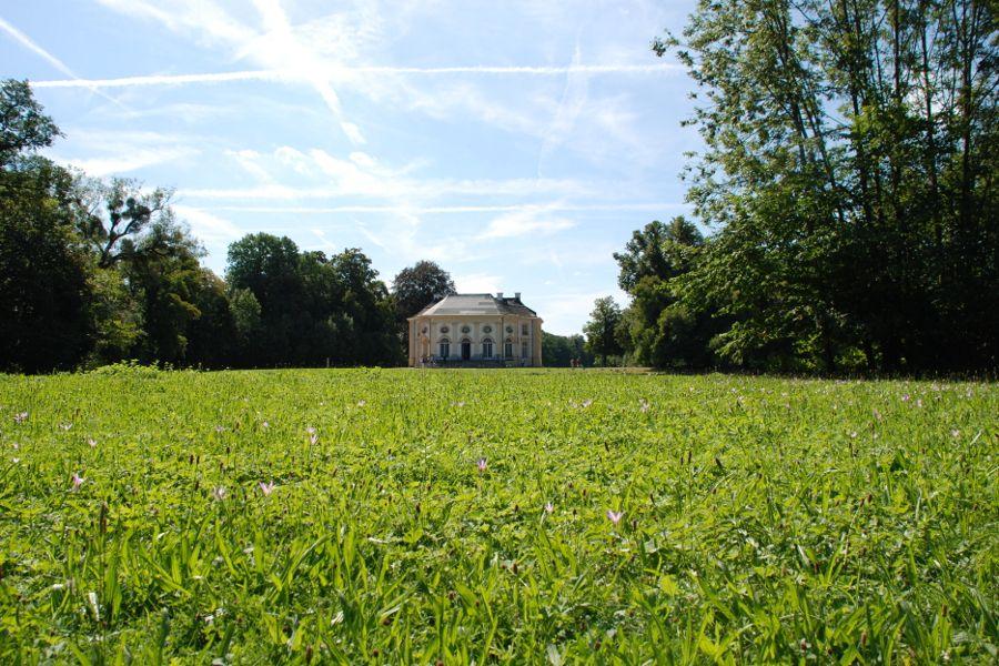 Badenburg at Nymphenburg in Munich, Germany.
