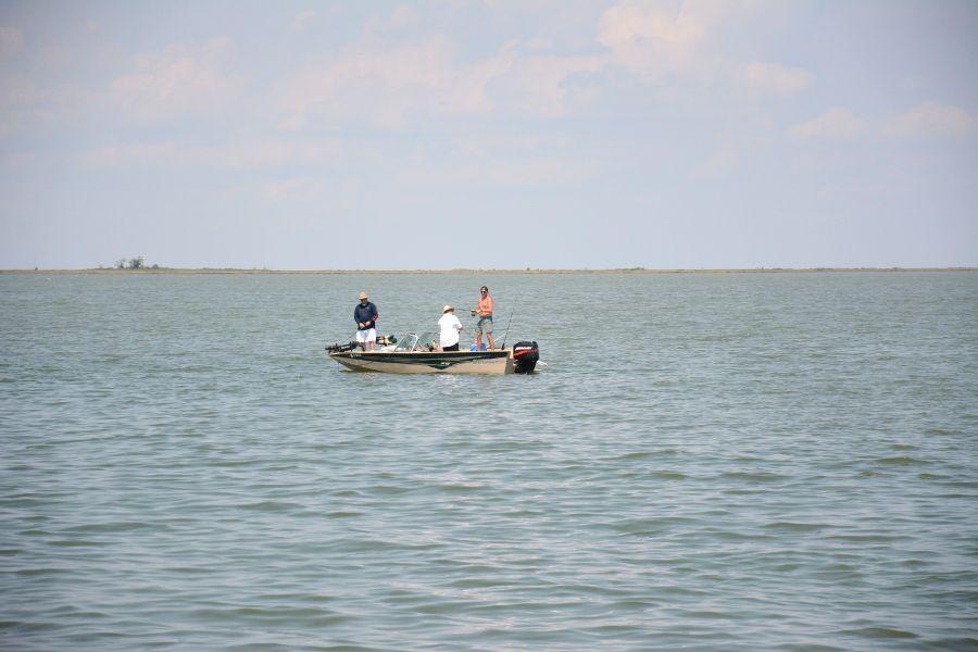 Fisherman on the Chesapeake Bay.