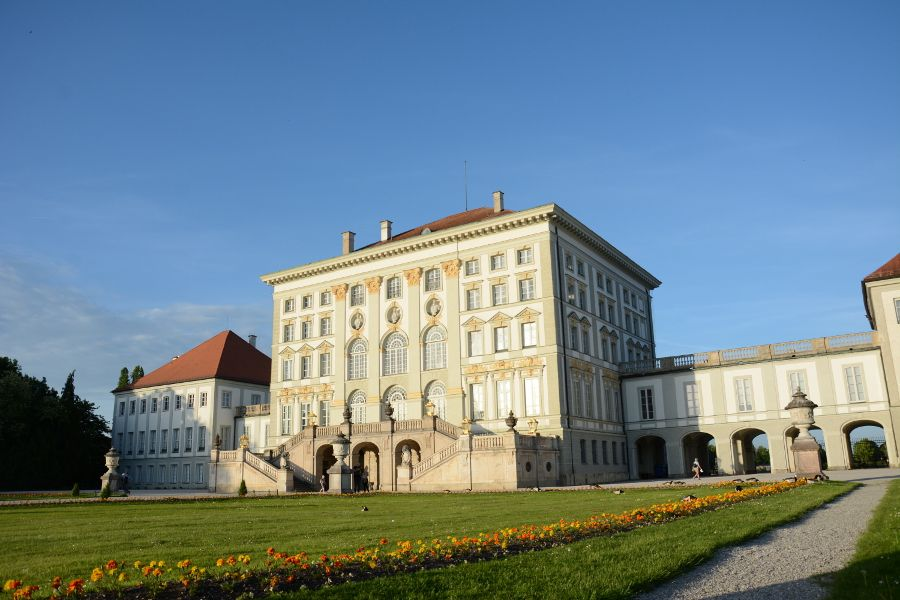 Nymphenburg Palace in Munich, Germany.