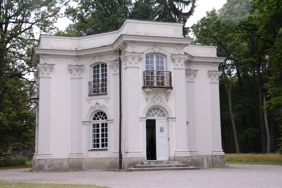 Pagodenburg at Nymphenburg in Munich, Germany.