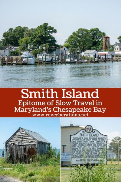Smith Island is made for slow travel. It's located in the Chesapeake Bay off the coast of Maryland. Unplug, grab a crab cake and a slice of Smith Island Cake. #smithisland #maryland #chesapeakebay #travel #slowtravel