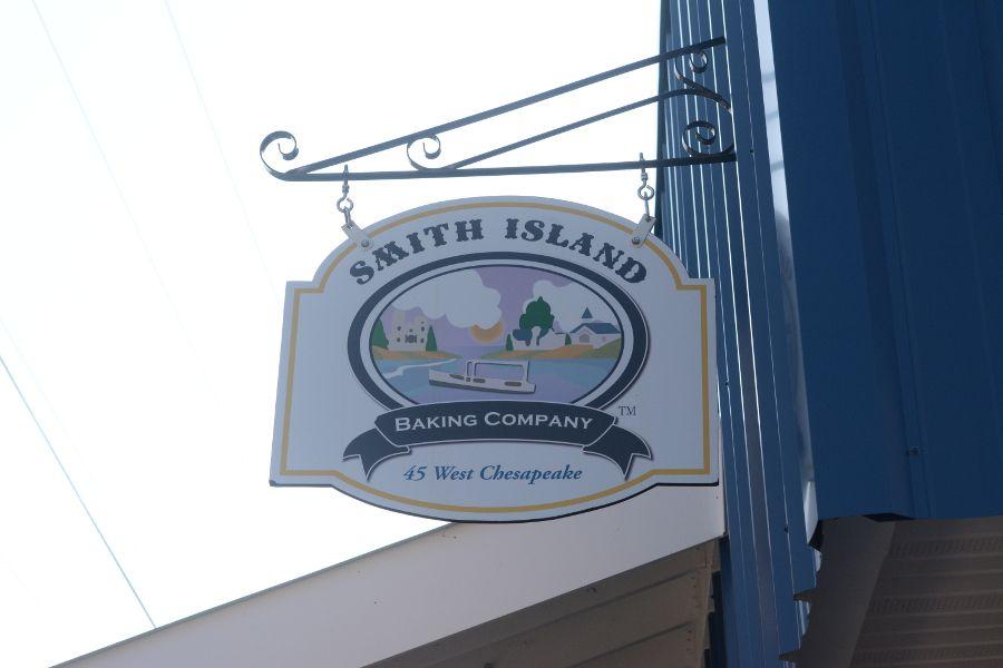 The Smith Island Baking Company sign.