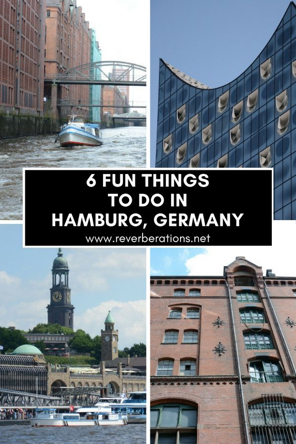 From the waterfront, to the harbor and world class museums, here are 6 fun things to do in Hamburg, Germany! Young, urban and hip, Hamburg has lots to see and do.