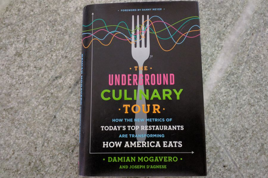 Book review of Damian Mogavero's Underground Culinary Tour.