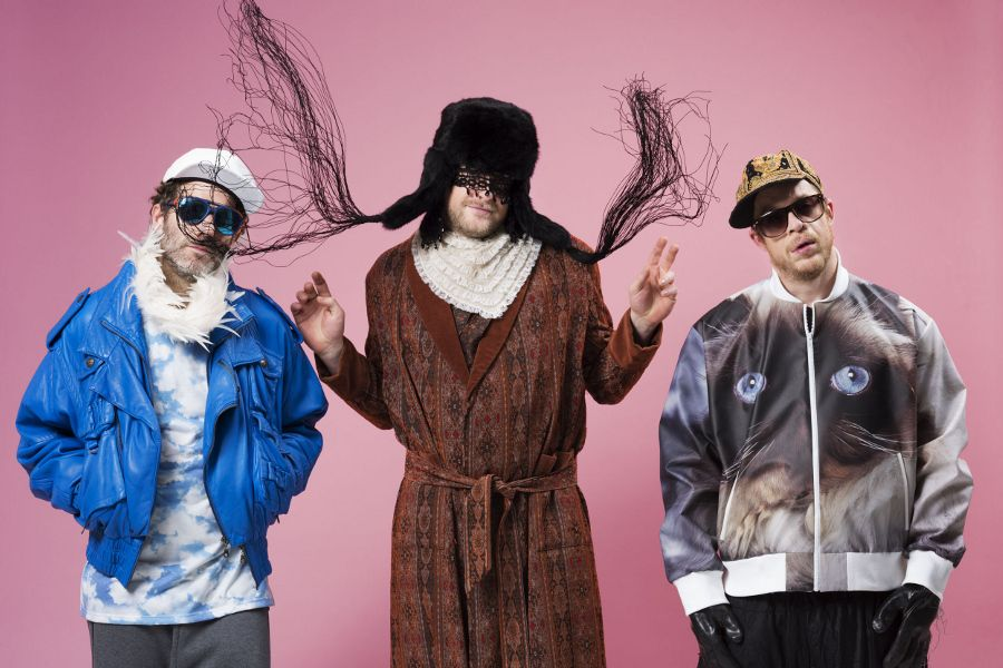 German hip hop and electro group Deichkind.