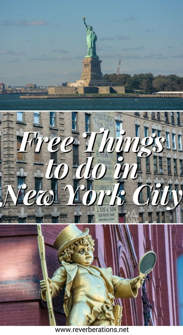 From ferry rides to TV show tapings, there are plenty of free things to do in New York City. You do not have to be a budget traveler to enjoy them. #nyc #newyorkcity