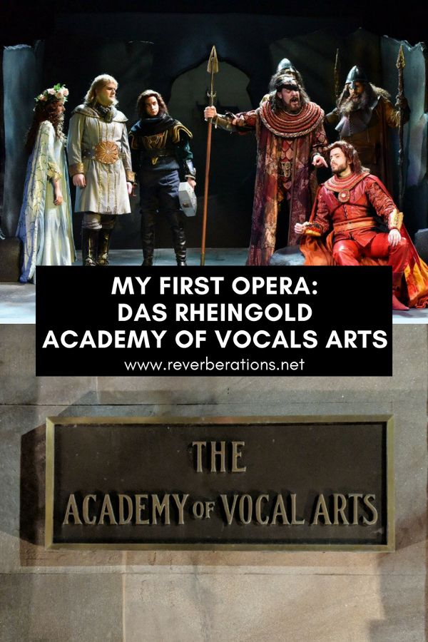 Exciting and impressive: attending my first opera at the Academy of Vocal Arts in Philadelphia to see Das Rheingold. #opera #philadelphia