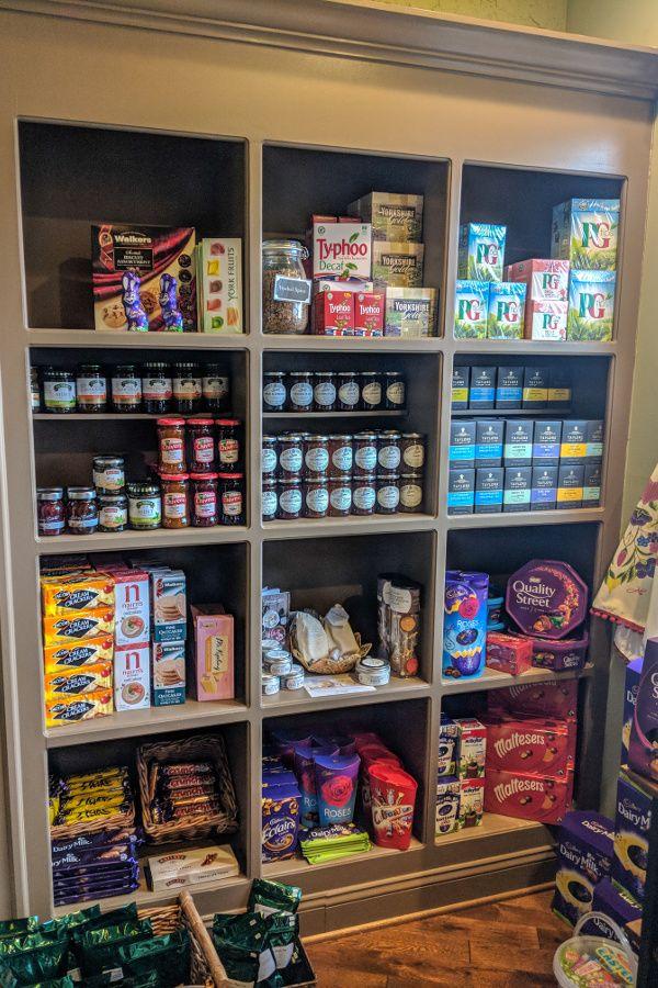 British groceries galore at A Taste of Britain.