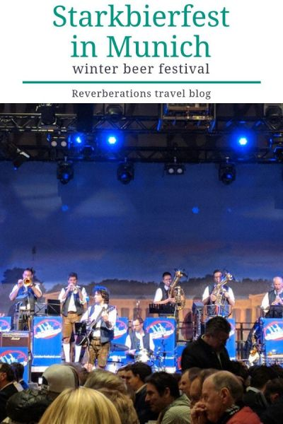 Munich, Germany celebrates Starkbierfest each winter. Starkbierfest is Oktoberfest's little brother. Here's your guide to visiting Starkbierfest at Paulaner am Nockherberg. #starkbierfest #starkbier #bavaria #munich #germany