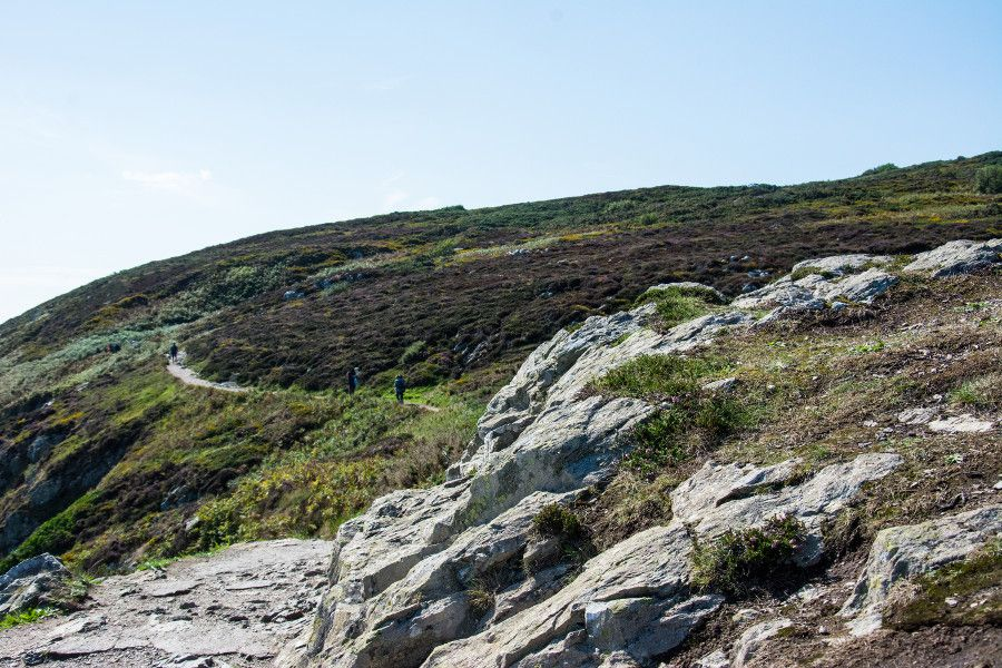 The Howth cliff walk loop.