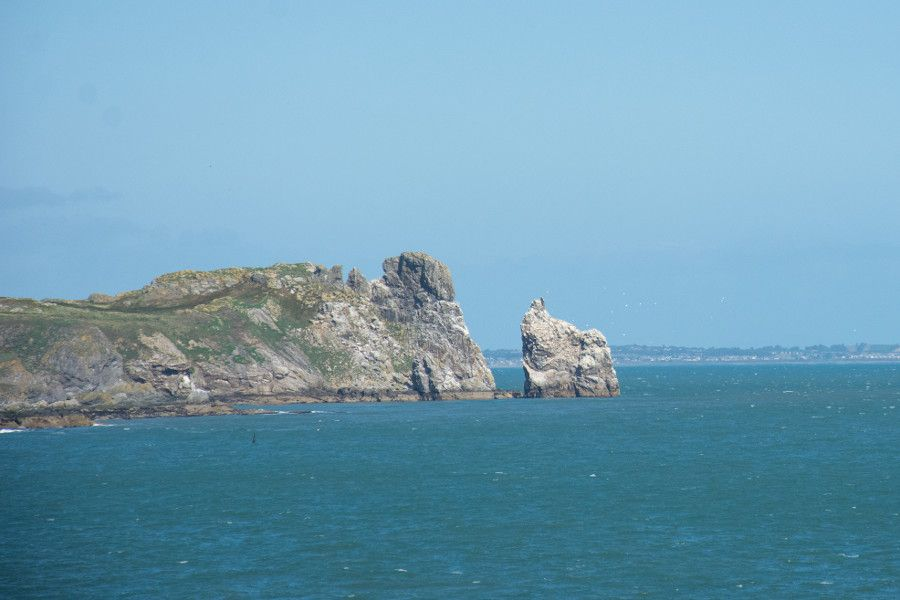 A view of Ireland's Eye from Howth cliff.