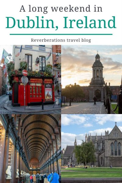 Here's your guide for what to do and where to eat in Dublin, Ireland for a long weekend from important museums to charming pubs. #dublin #ireland #travel
