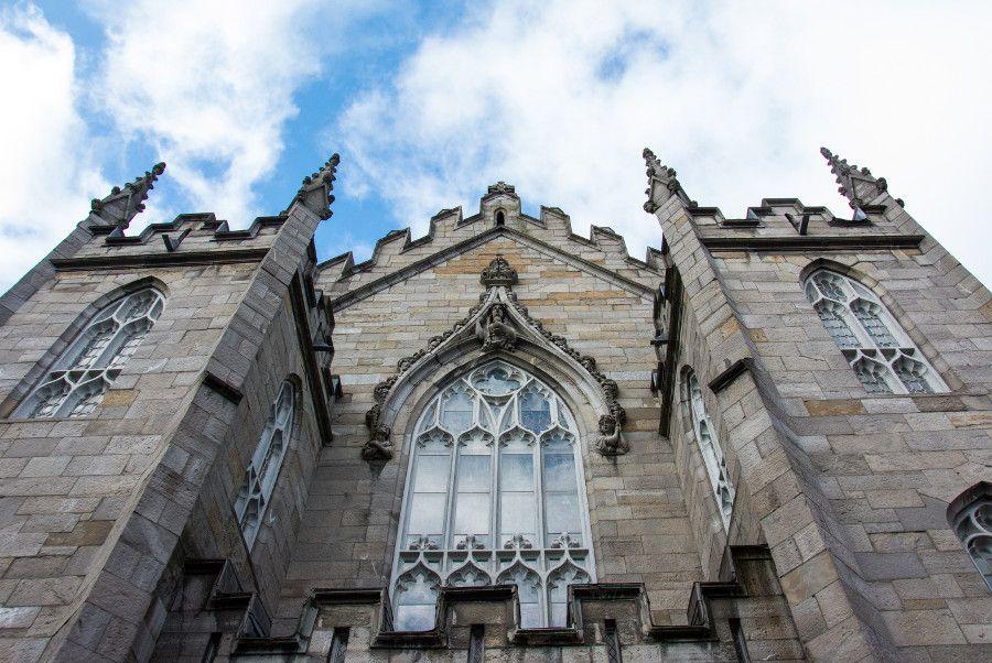 Chapel Royal at Dublin Castle.
