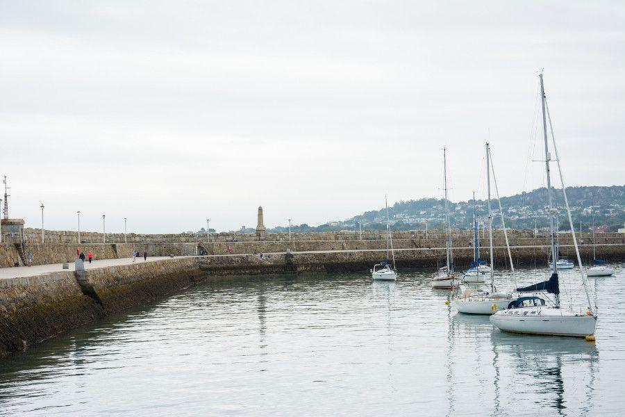 The Dún Laoghaire East Pier.